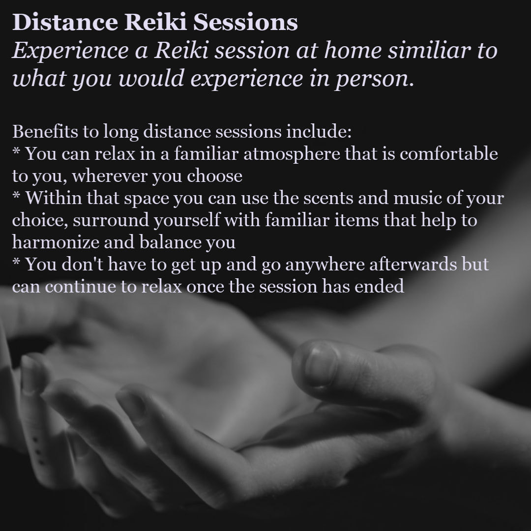 Long Distance Reiki Sessions with Reiki Master, Teresa Graham