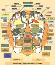 Clinical Reflexology in Calgary NW with Teresa Graham, RMT at Hand to Health