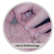 Reflexology sessions for the Hands in Calgary with Teresa Graham at handtohealth.com