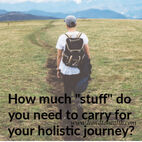 Holistic Journey baggage and stuff