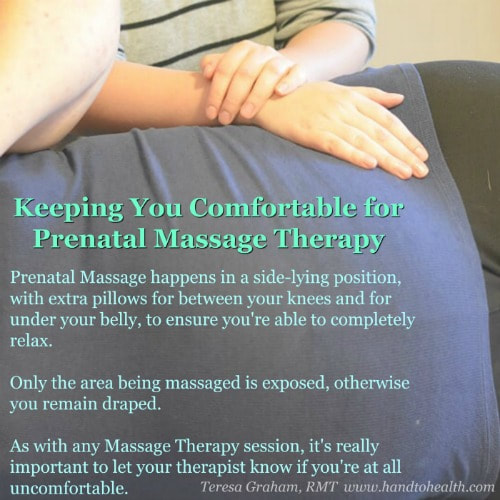 Prenatal Massage Therapy with Teresa Graham RMT
